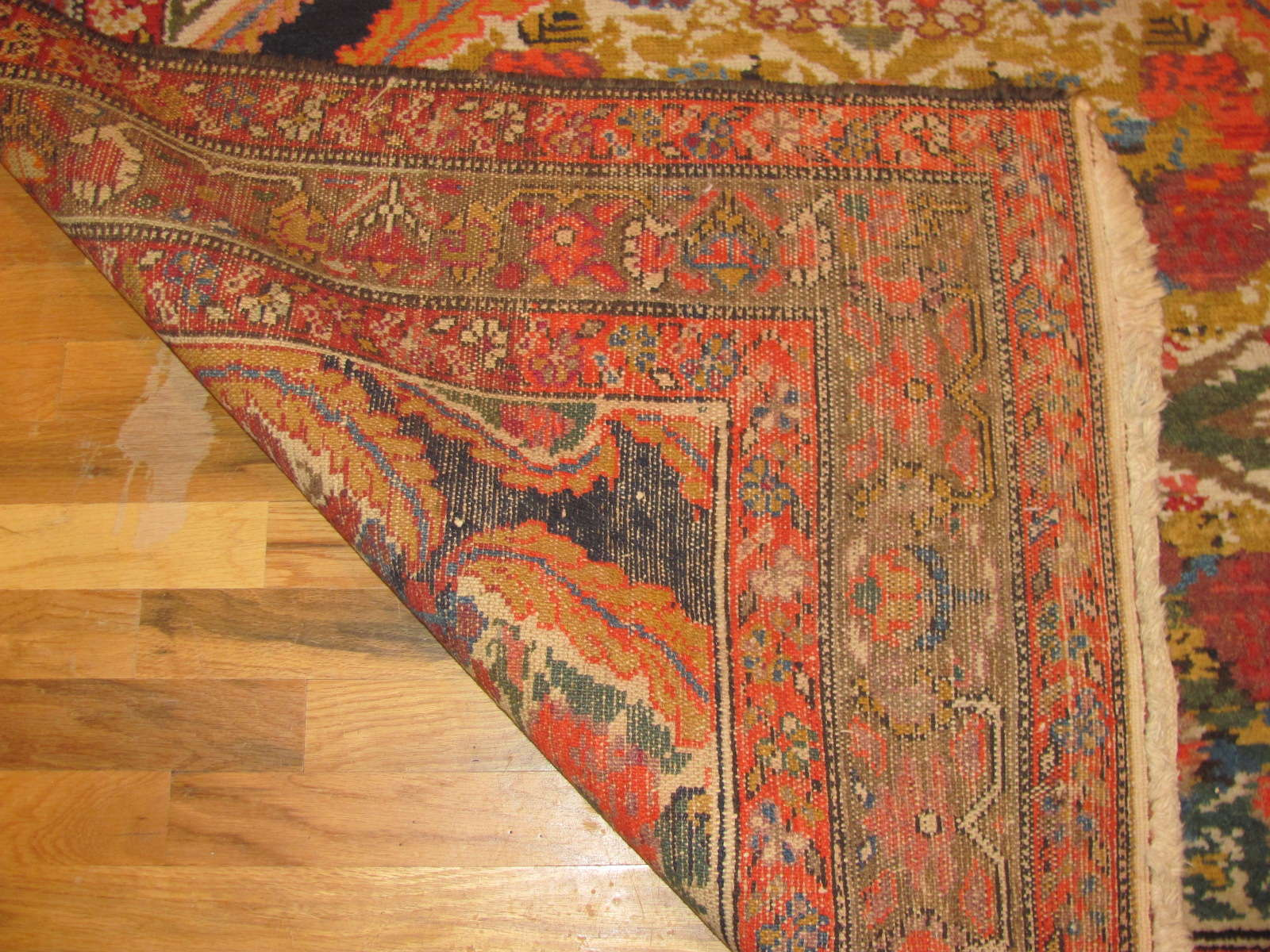 24430 antique persian malayer gallery runner 4,9x11,9 -3
