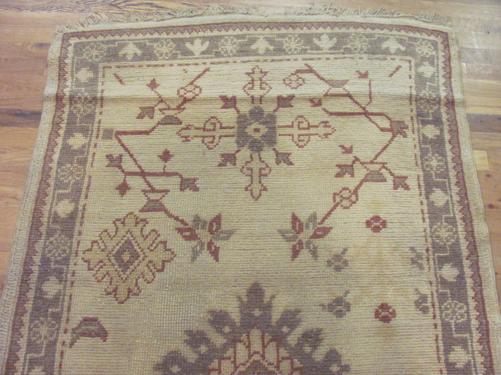 24443 Turkish Anatolian Oushak runner 3,10x10,10 -1