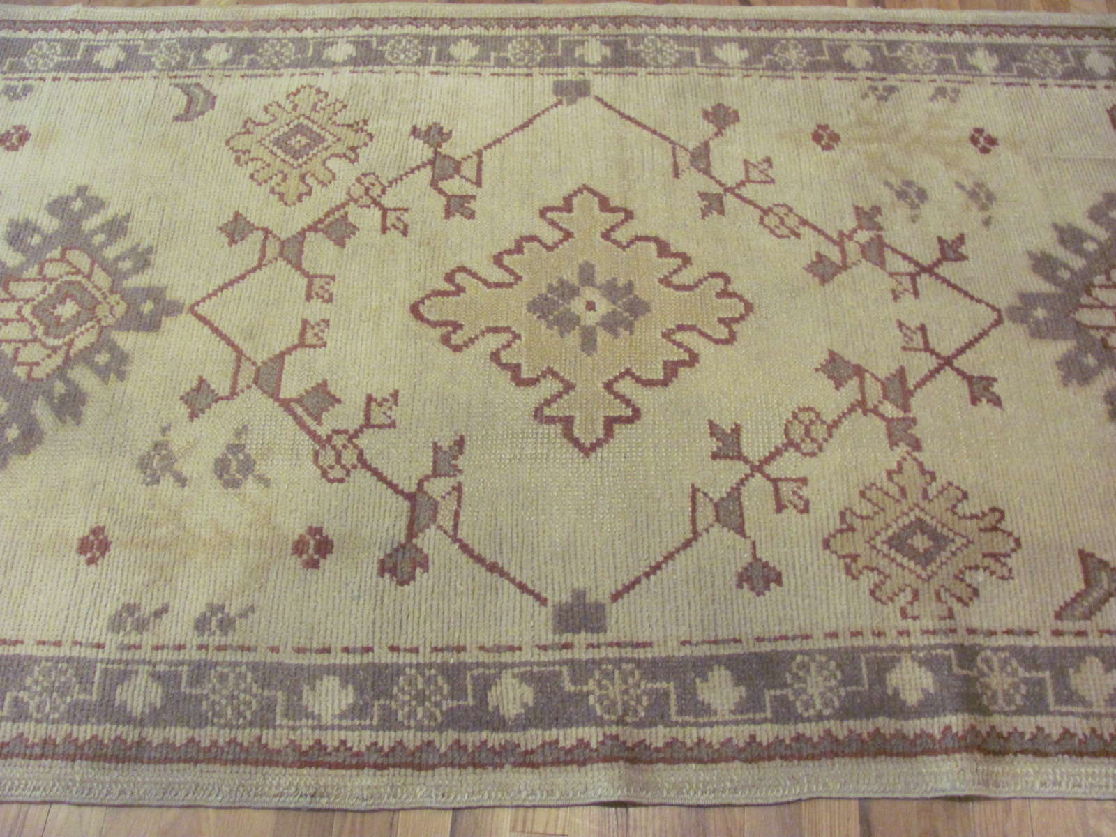 24443 Turkish Anatolian Oushak runner 3,10x10,10 -2