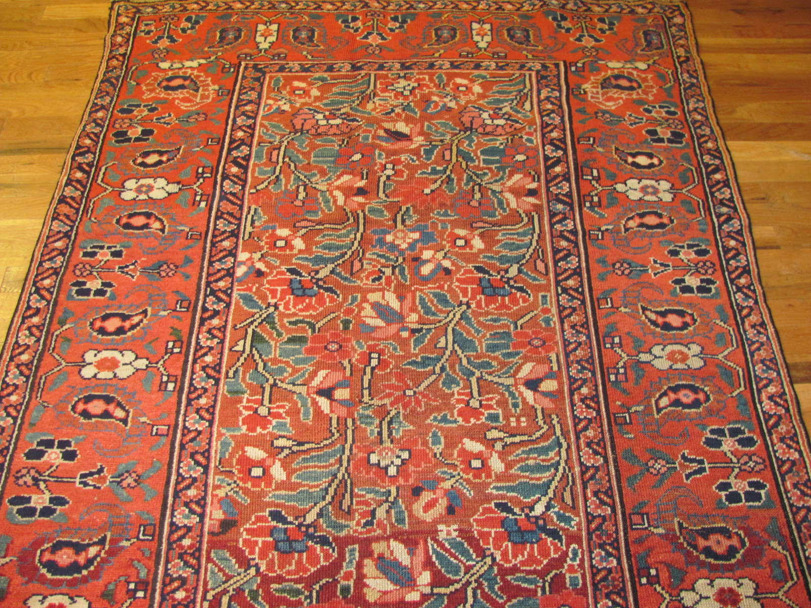 24458 antique persian kurd rug 4,5x10,8 -1