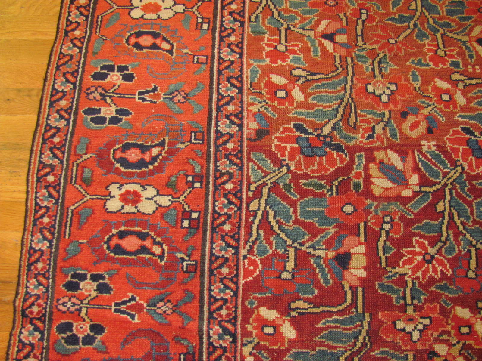 24458 antique persian kurd rug 4,5x10,8 -2