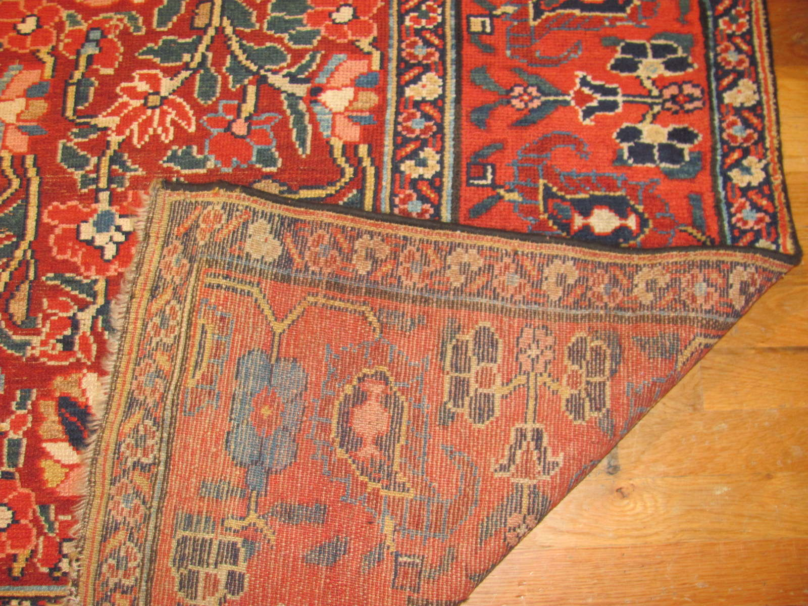 24458 antique persian kurd rug 4,5x10,8 -3
