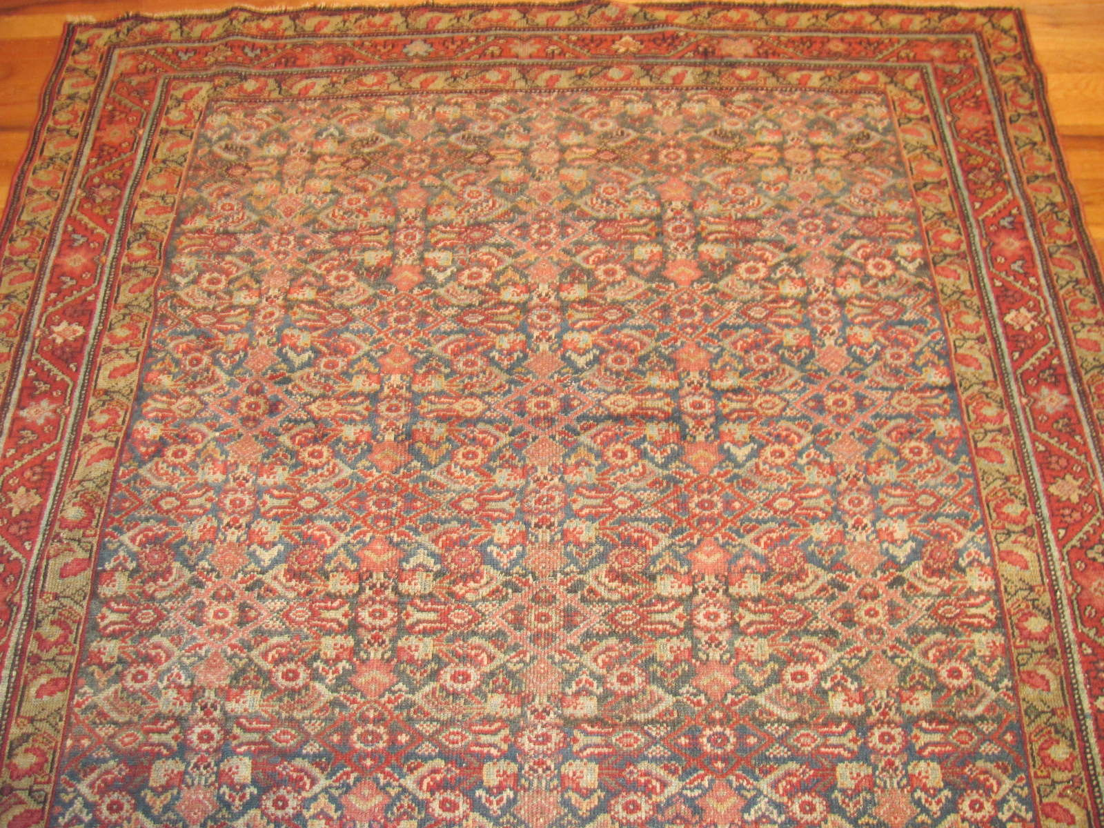 24459 antique Persian Malayer rug 5,4x9,9 -1