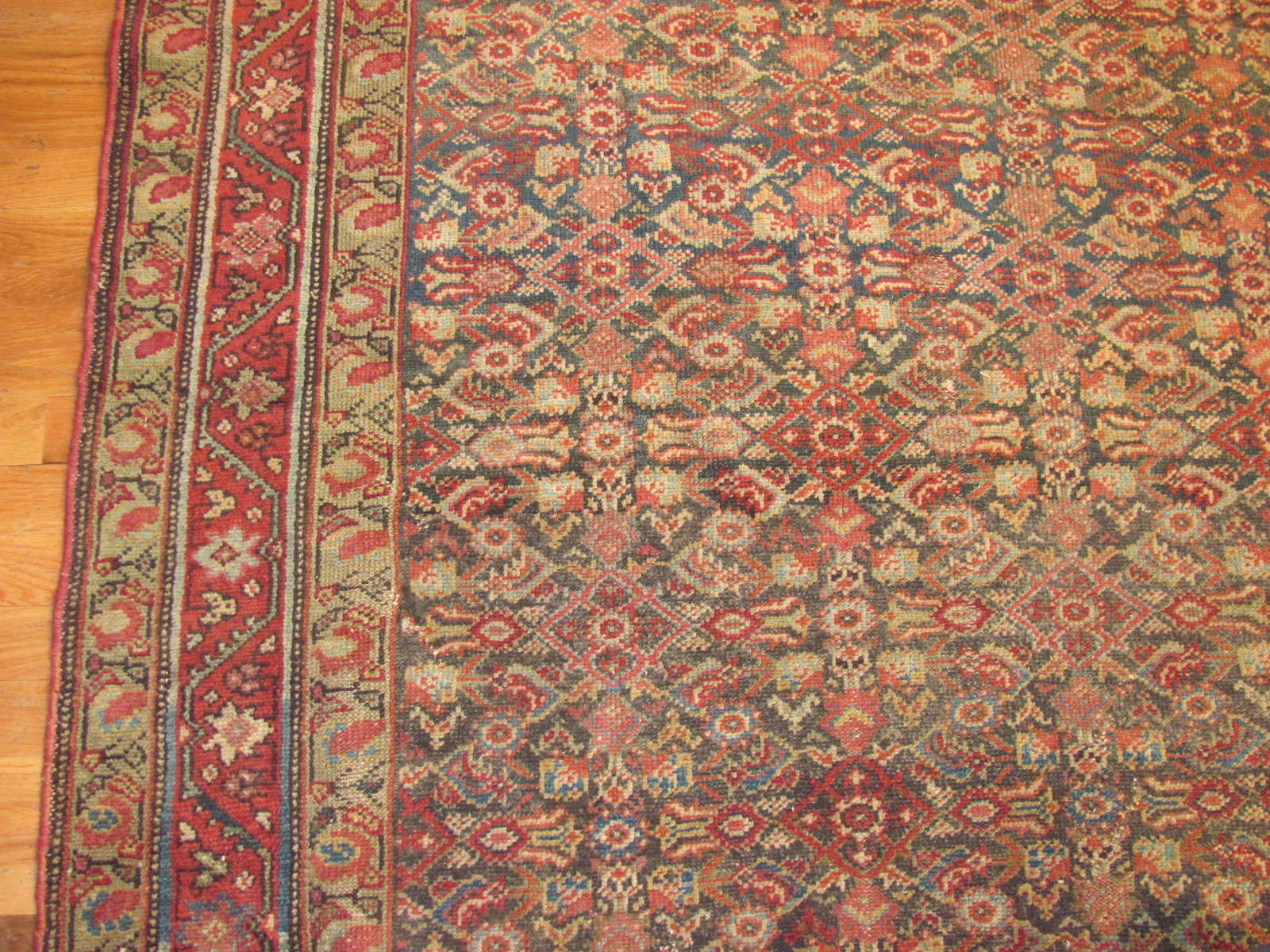 24459 antique Persian Malayer rug 5,4x9,9 -2
