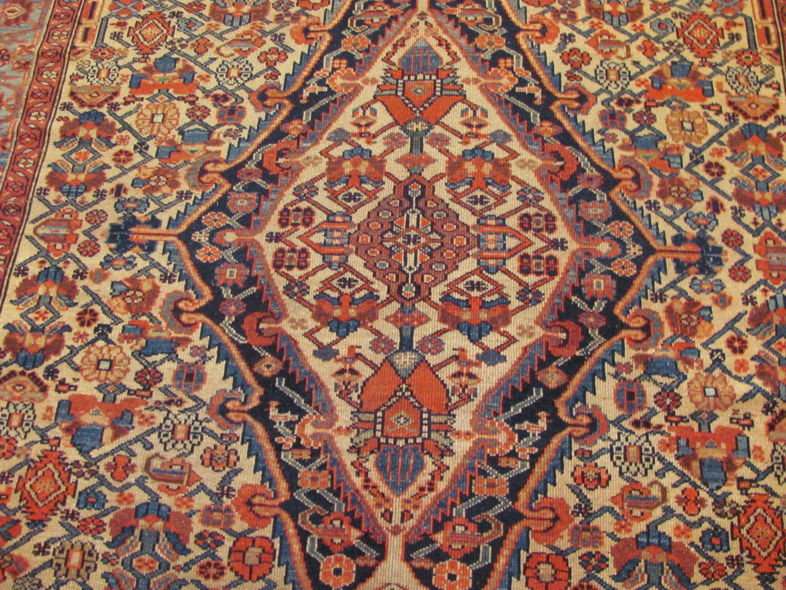 24464 antique Persian Malayer carpet 6,7x11 -2