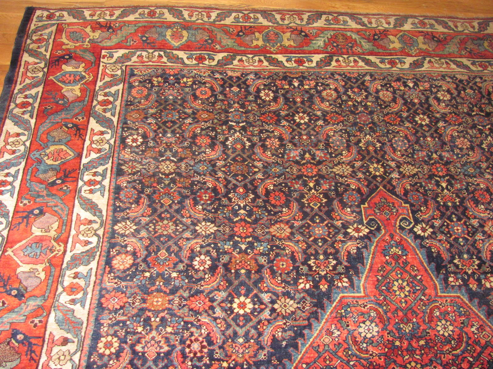 24472 Persian Bidjar carpet 7,9x11 -1