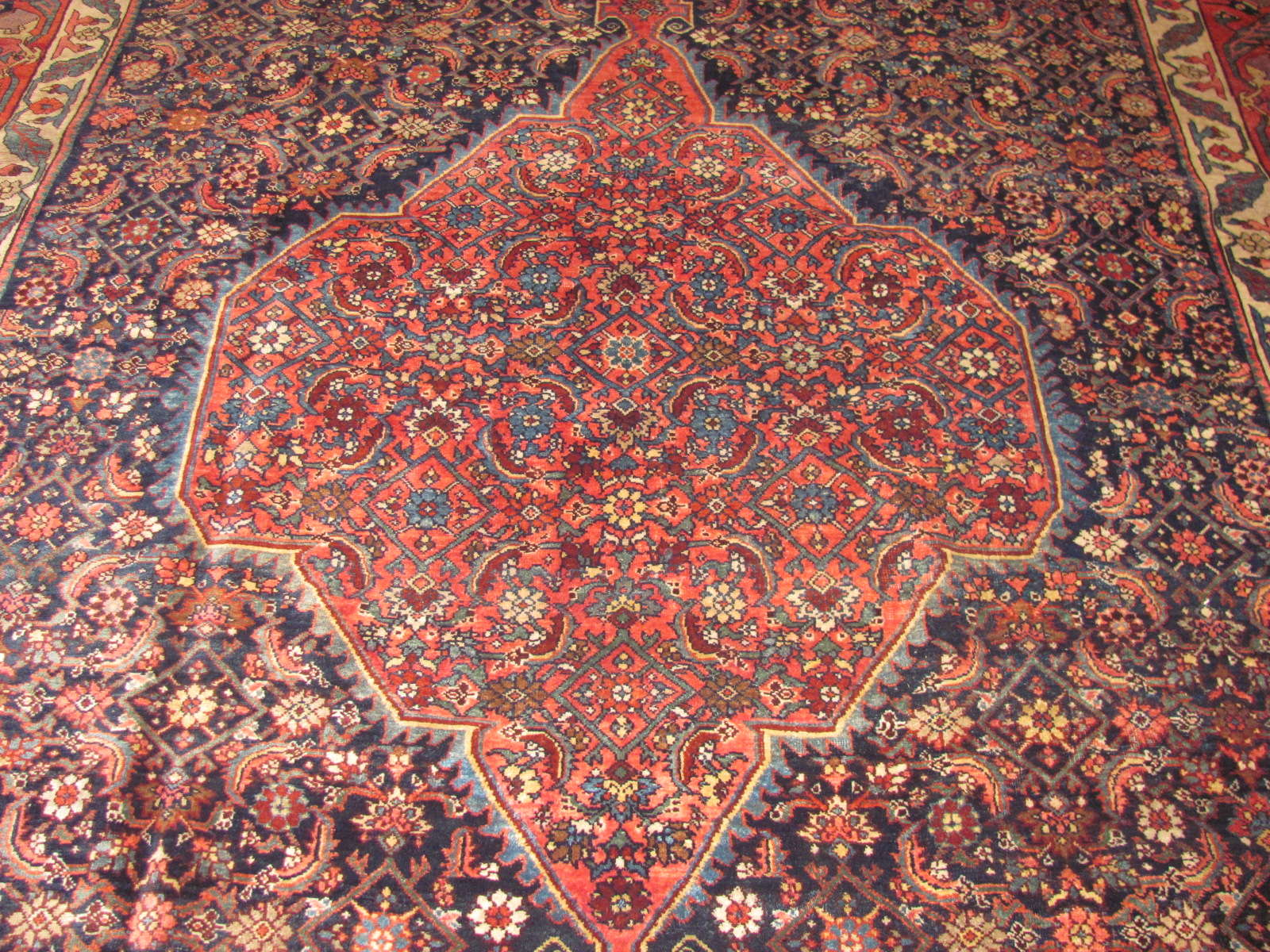 24472 Persian Bidjar carpet 7,9x11 -2