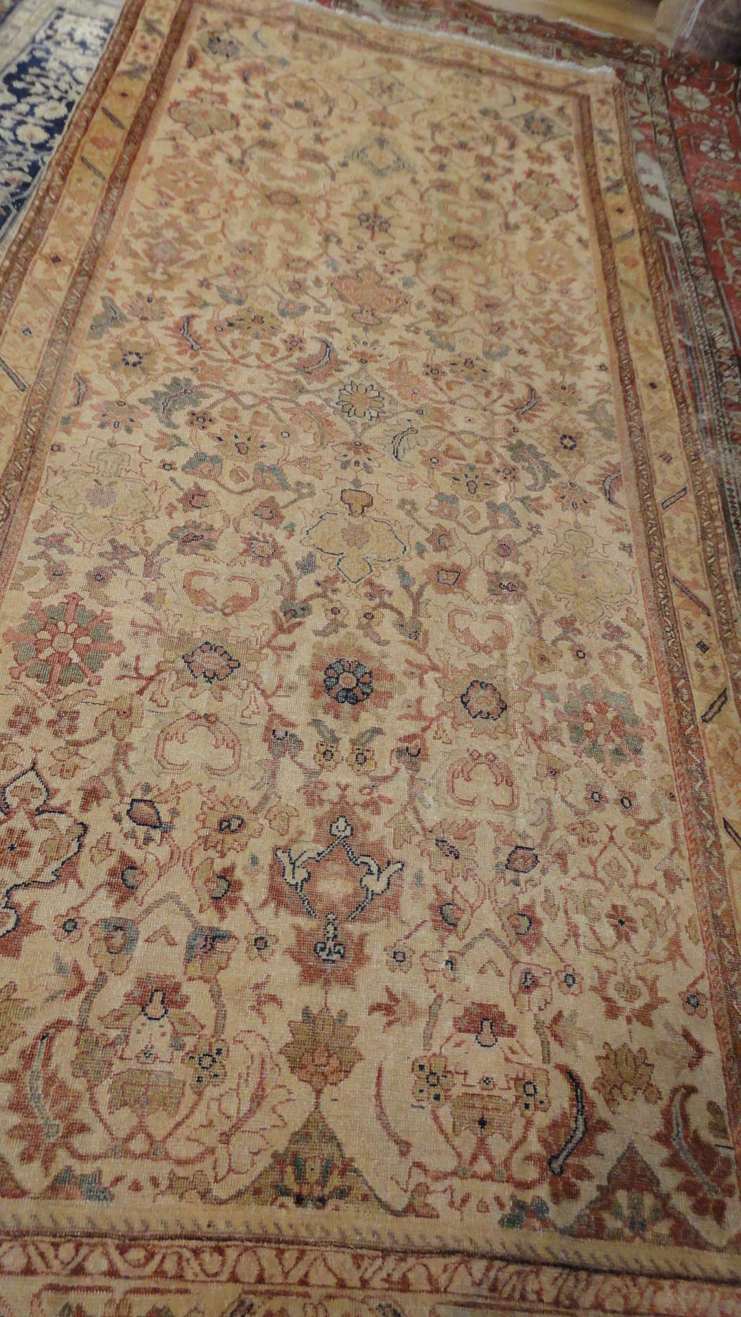 24476 antique Persian Mahal rug 4,11x11 -1