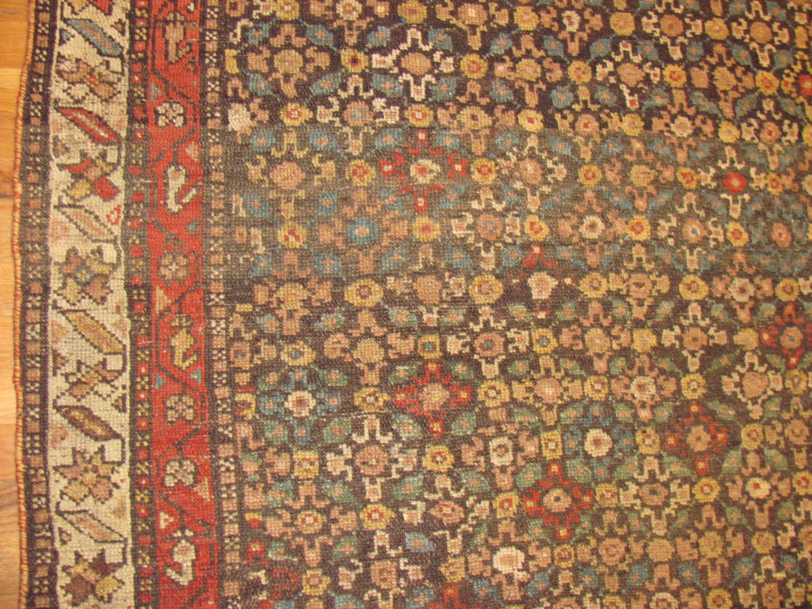 24499 antique persian kurdish rug 4,2 x 8,8 -2