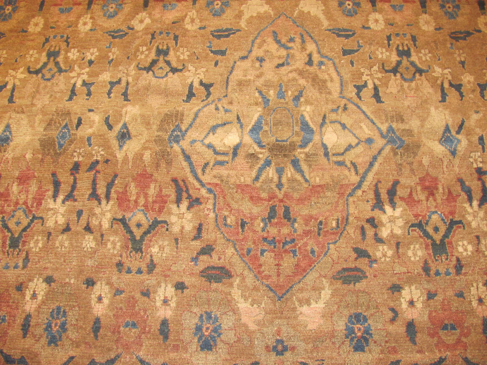 24522 antique Malayer rug 8,6 x 9 -2