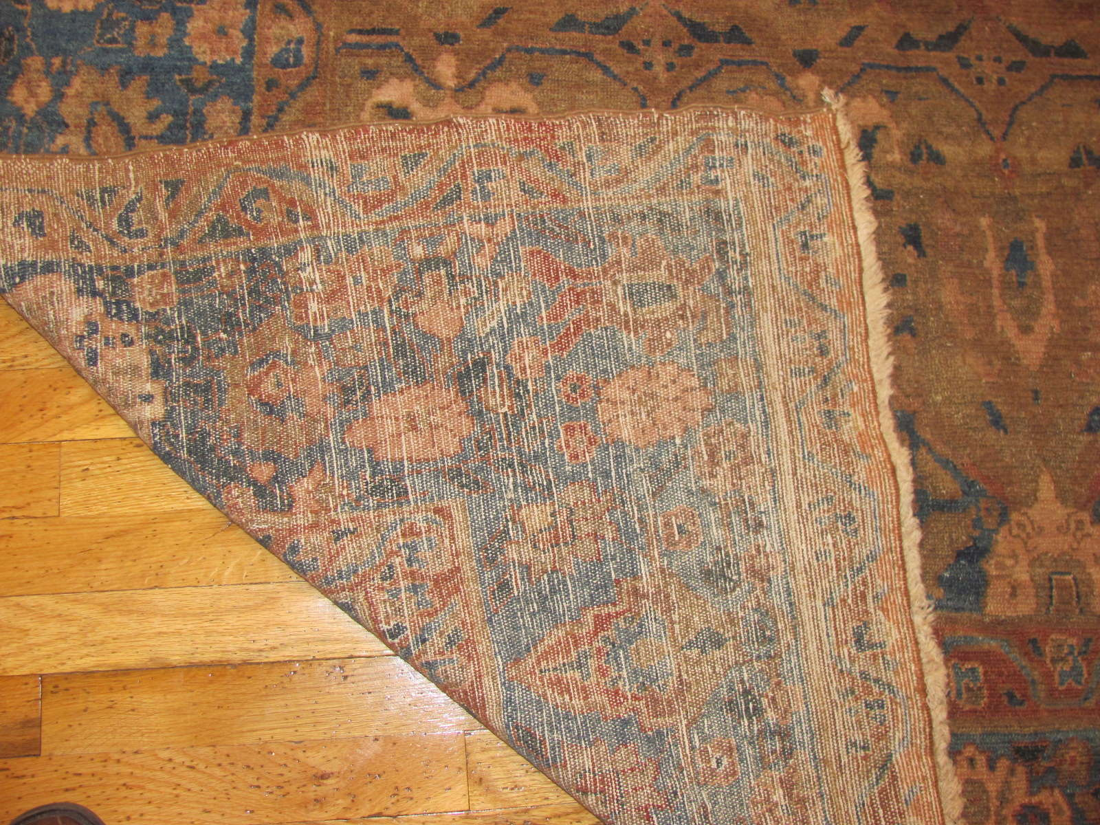 24522 antique Malayer rug 8,6 x 9 -3