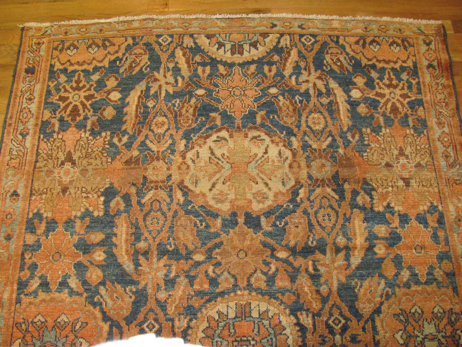 24539 antique persian malayer rug 4,9 x 7 -1