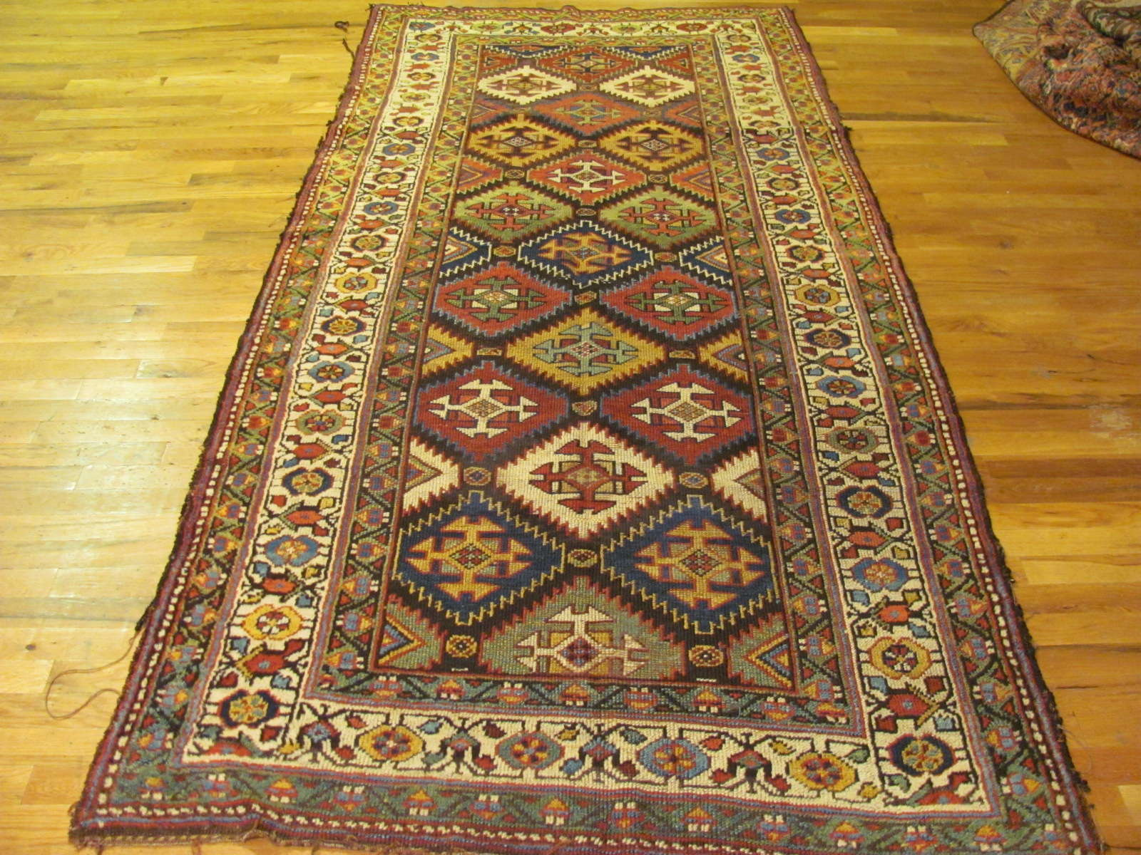 Kurd Rug | Northwest Persia | Handmade | Antique Circa 1910