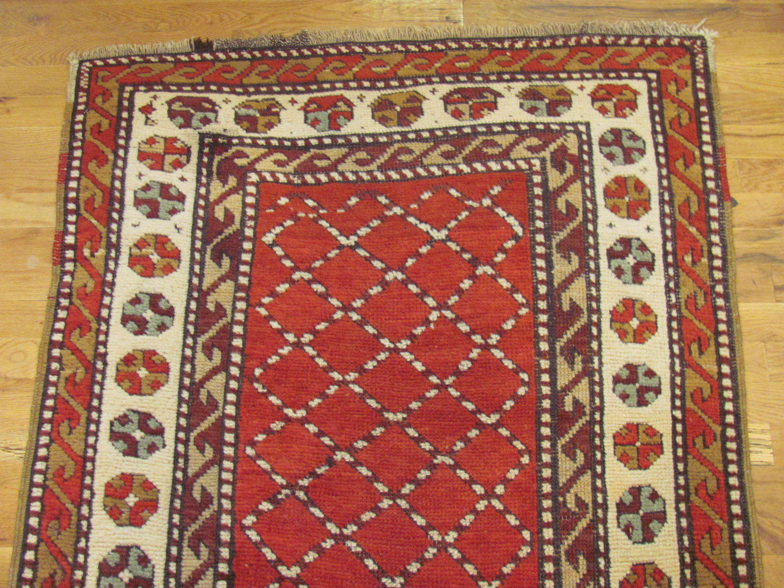 24547 antique persian northwest kurd rug 3,4x7,1 -1