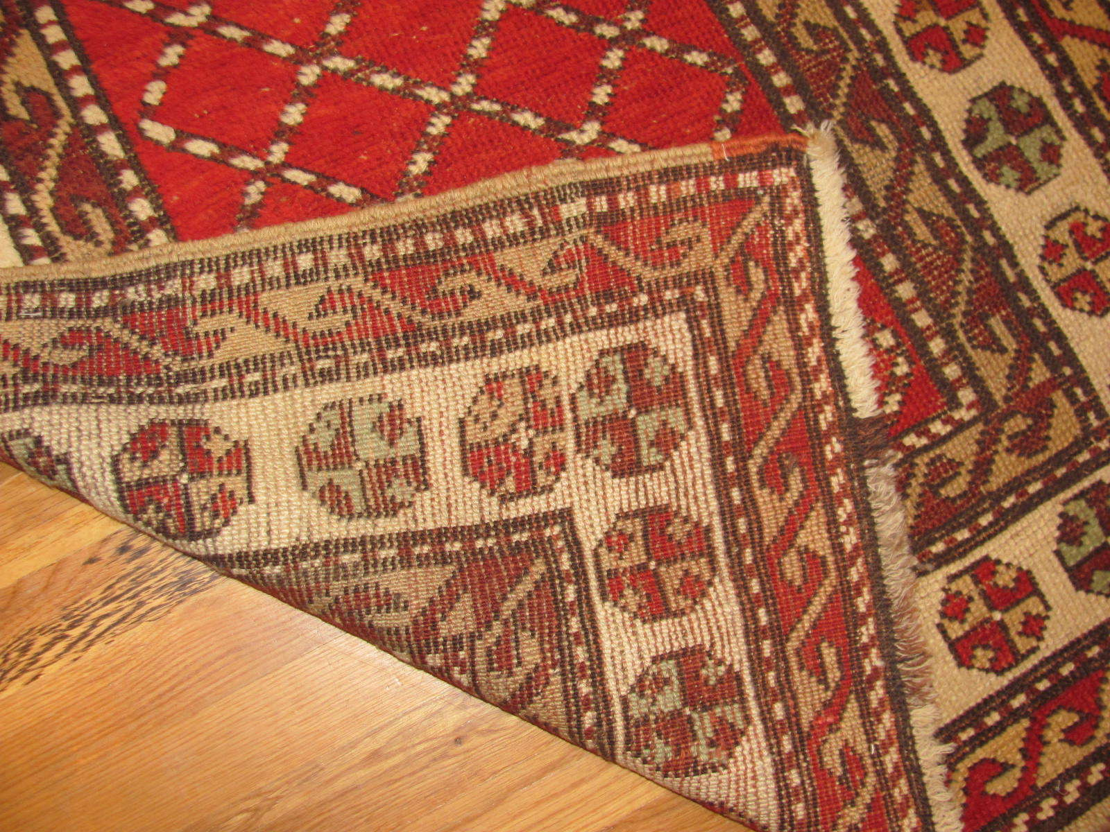 24547 antique persian northwest kurd rug 3,4x7,1 -2
