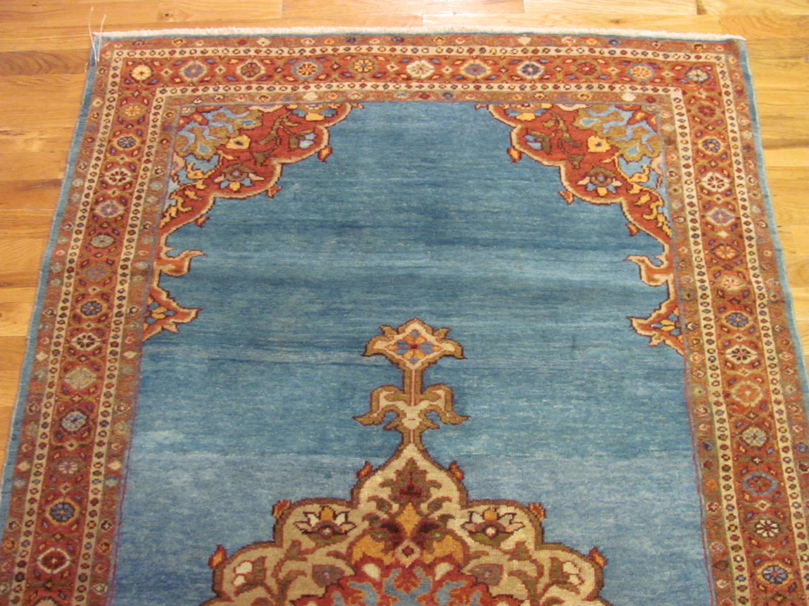 24578 antique persian Mahal Ziegler rug 4 x 6,11 (2)