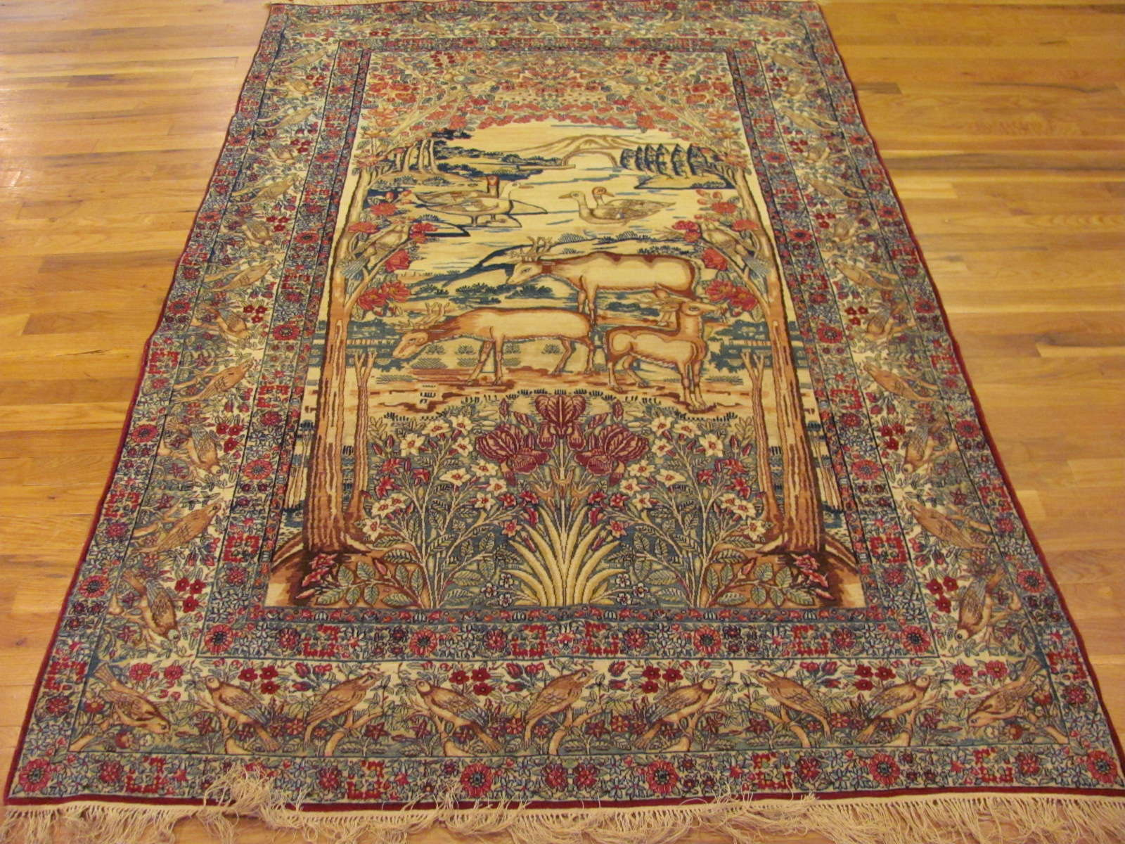 Antique Kerman Lavar Carpet | Persia | Circa 1910
