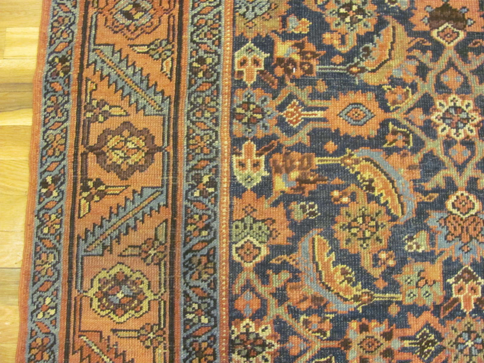 24614 antique persian heriz rug 4,8 x 6,5 -2