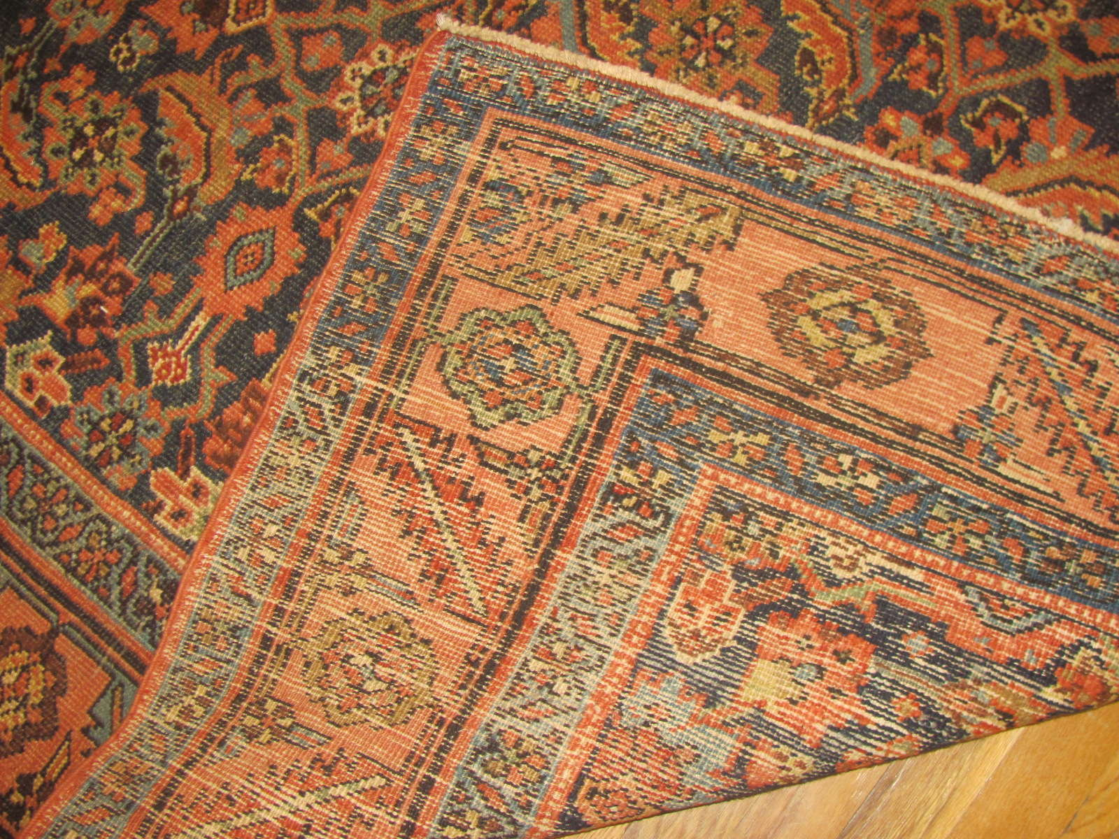 24614 antique persian heriz rug 4,8 x 6,5 -3