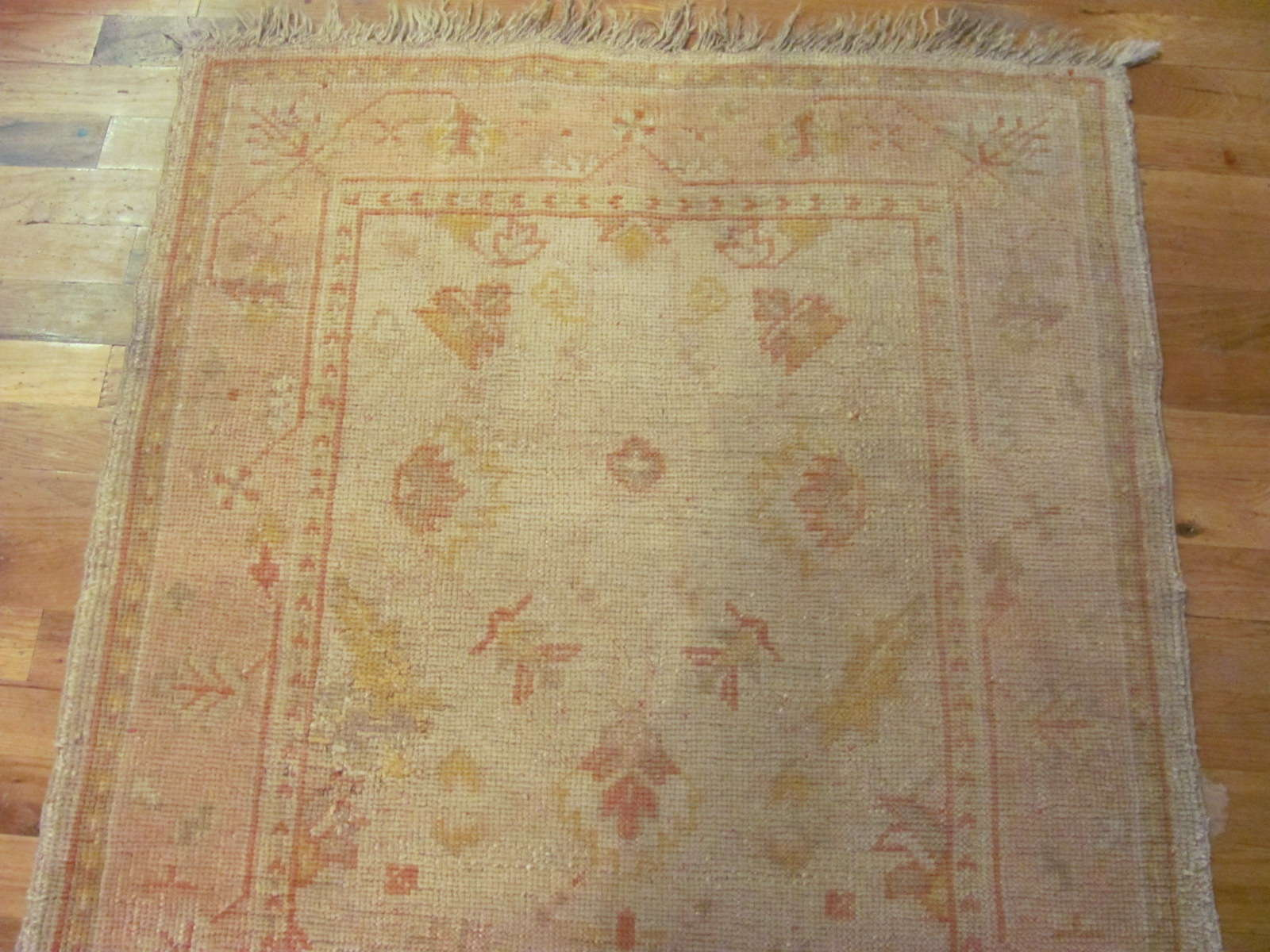 24631 Turkish Oushak rug 2,10 x 5,6 -1