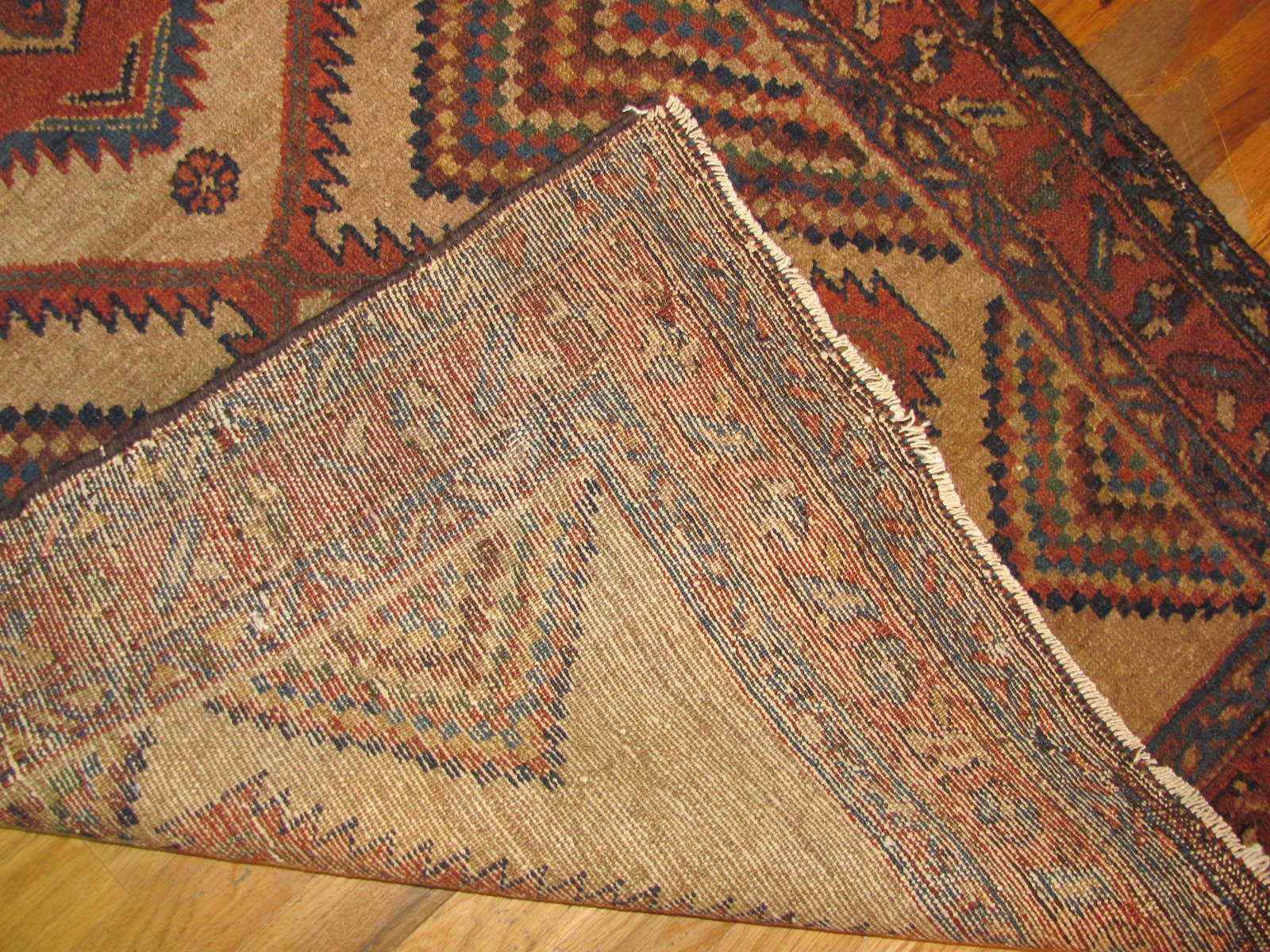 24633 antique persian hamadan rug 3 x 5,1 -2