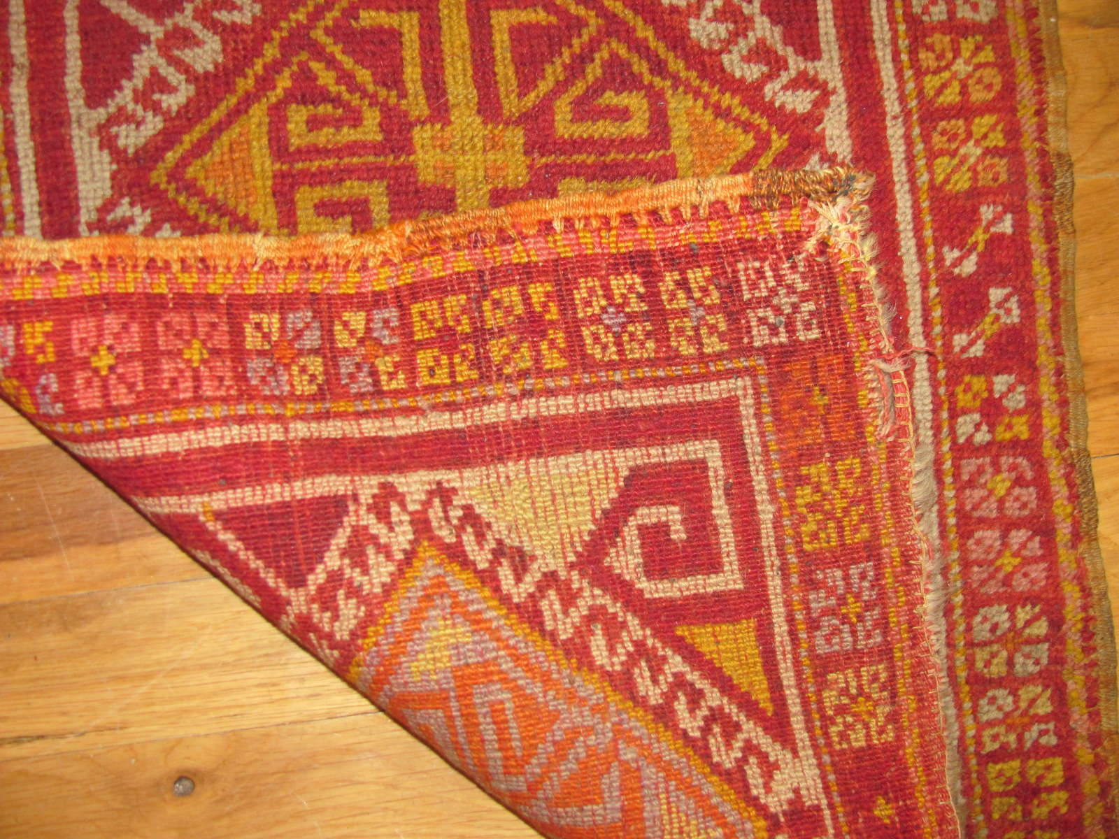 24677 antique anatolian mat 1,7 x 2,9 -1