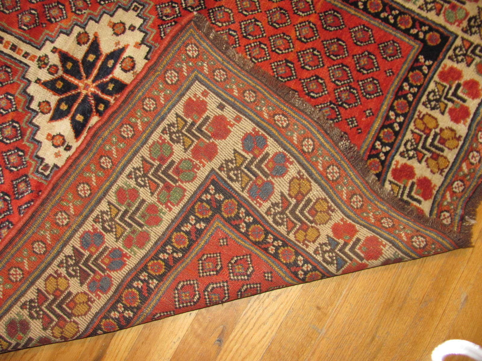 24711 antique Persian Luri runner 3,6x10,8 -2