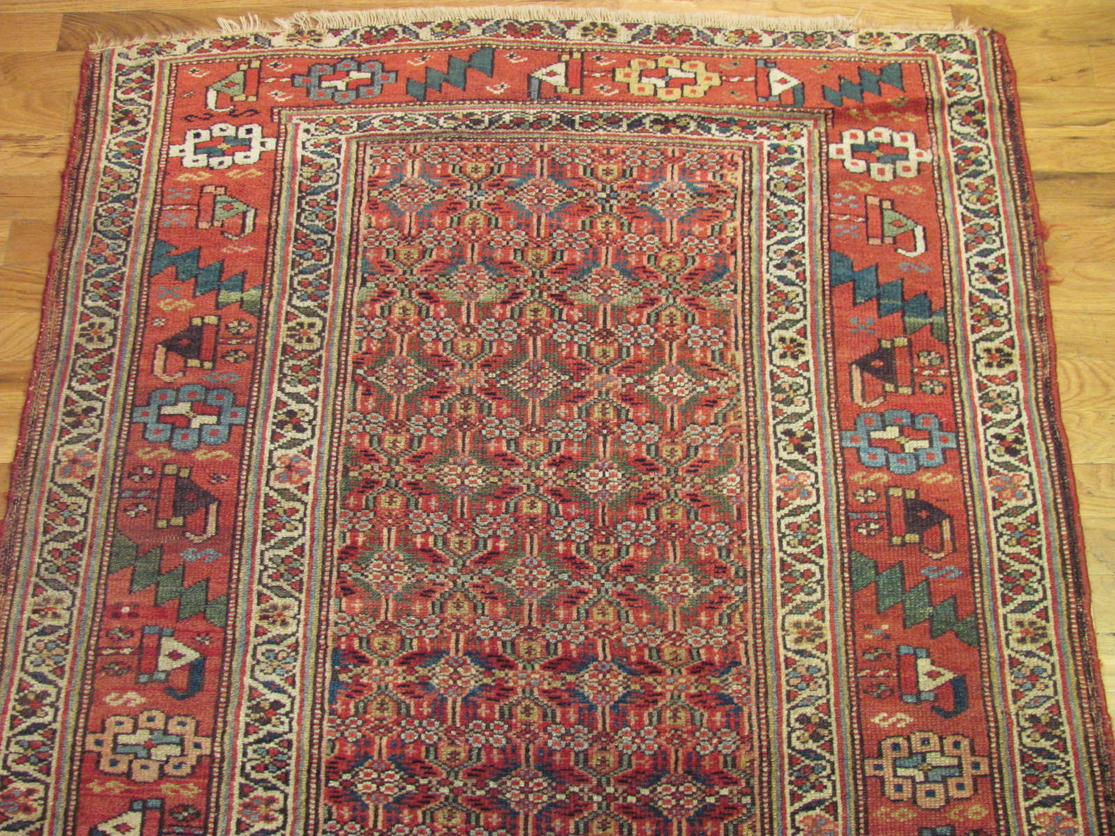 24721 antique persian kurd rug 3,8 x 6 -2