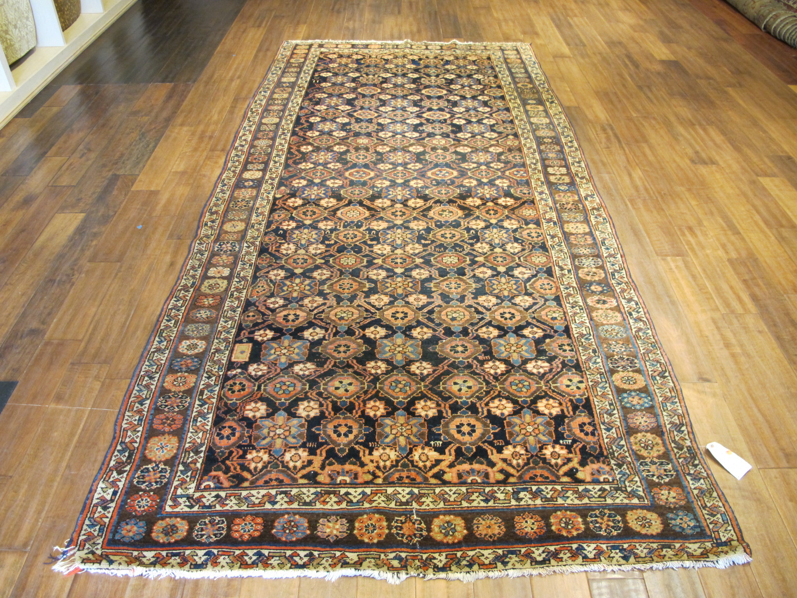 22148 Antique Persian Veramin gallery rug 5,5 x 11,2 (2)