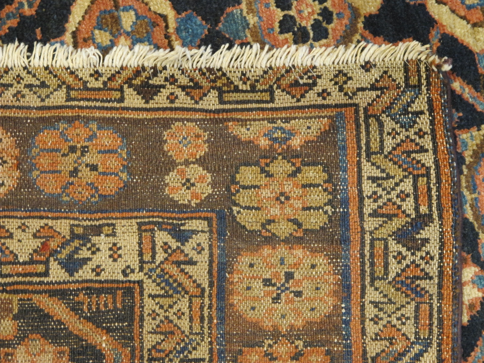 22148 Antique Persian Veramin gallery rug 5,5 x 11,2 (5)