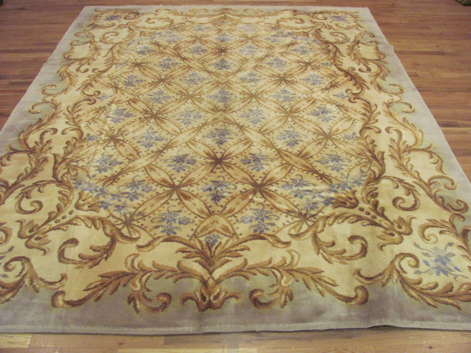 Spanish Carpet | Handmade | Circa 1920s
