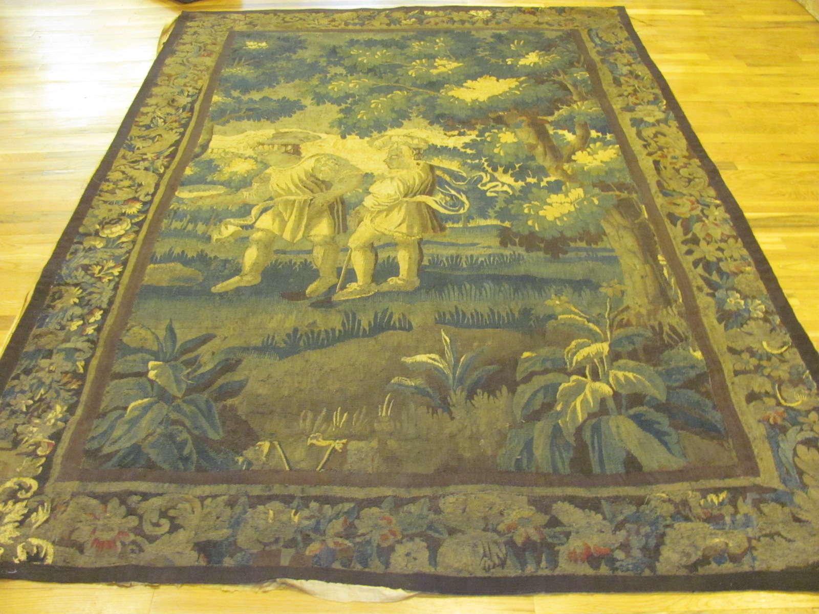 Antique Flemish Tapestry | Circa 1700