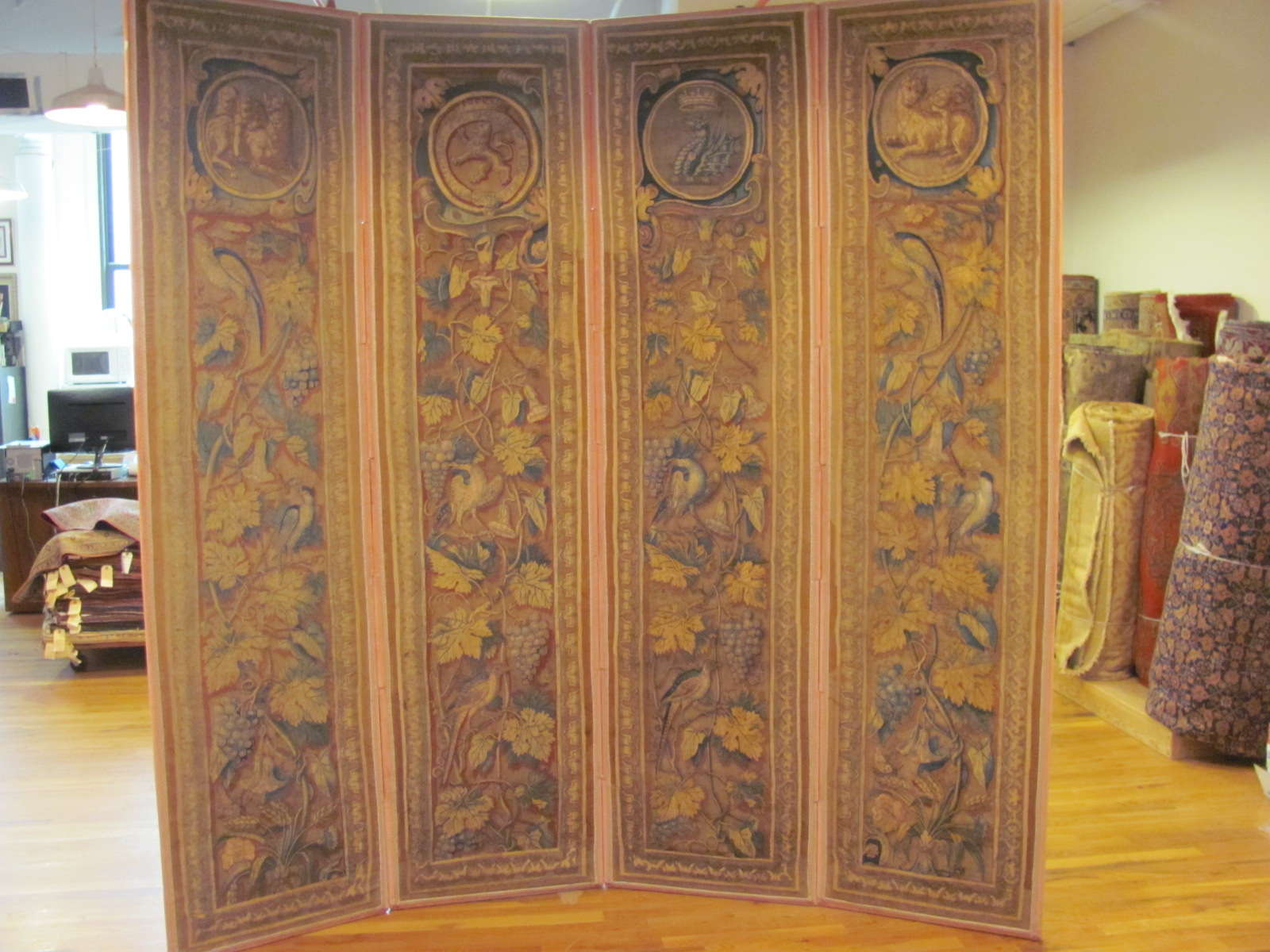 French Tapestry   Antique Circa 1700s