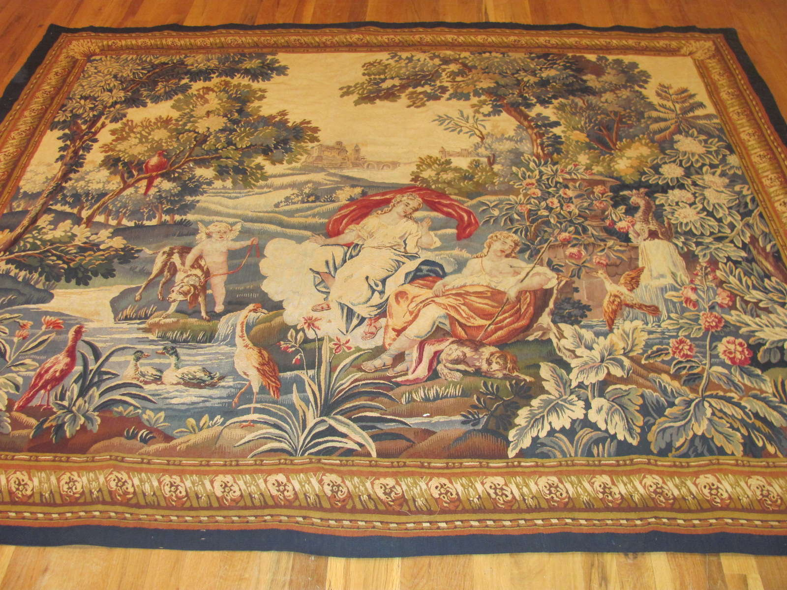 French Tapestry | Antique Circa Late 1700s / Early1800s