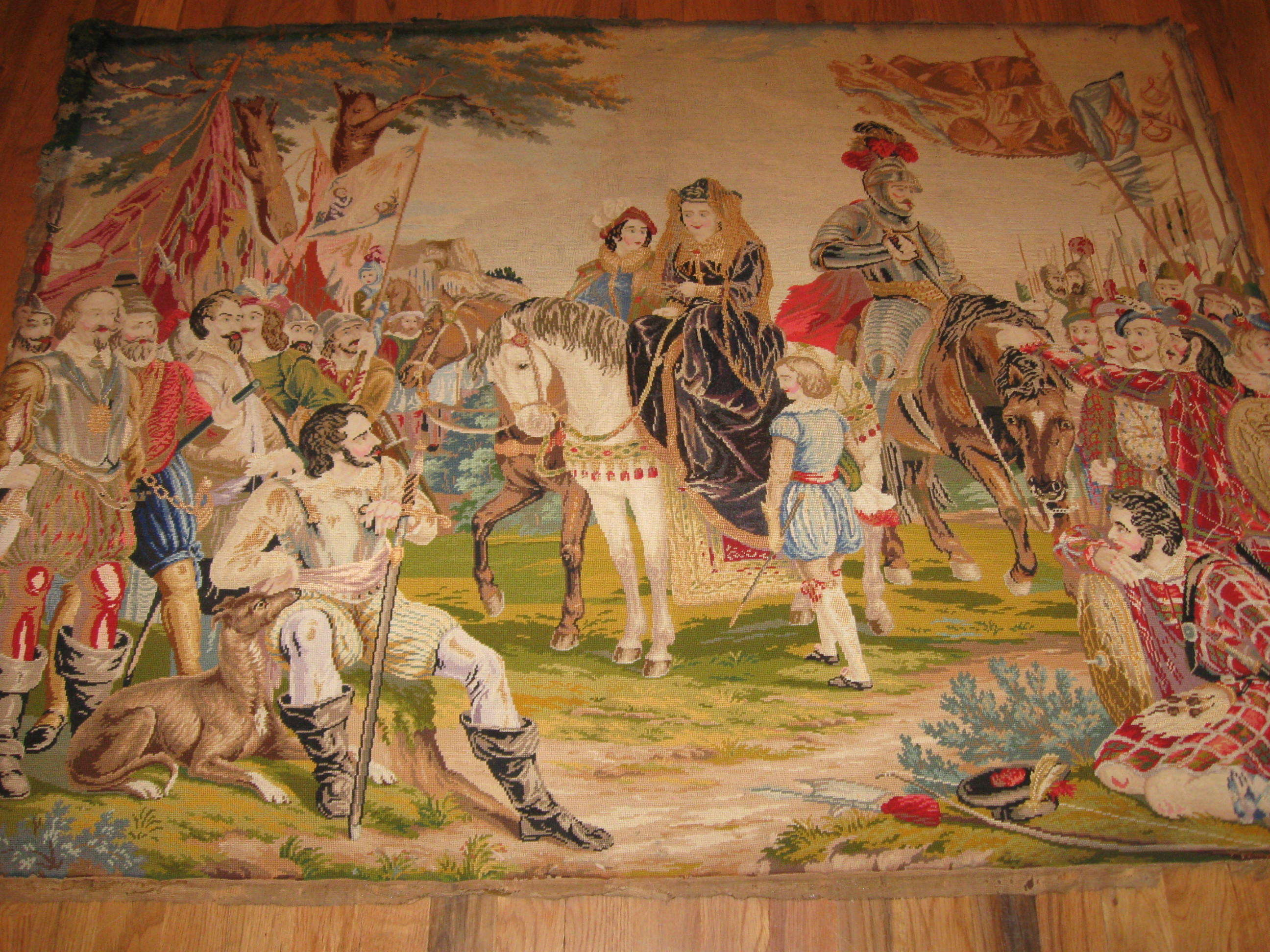 European Tapestry | Antique Circa Early 1800s