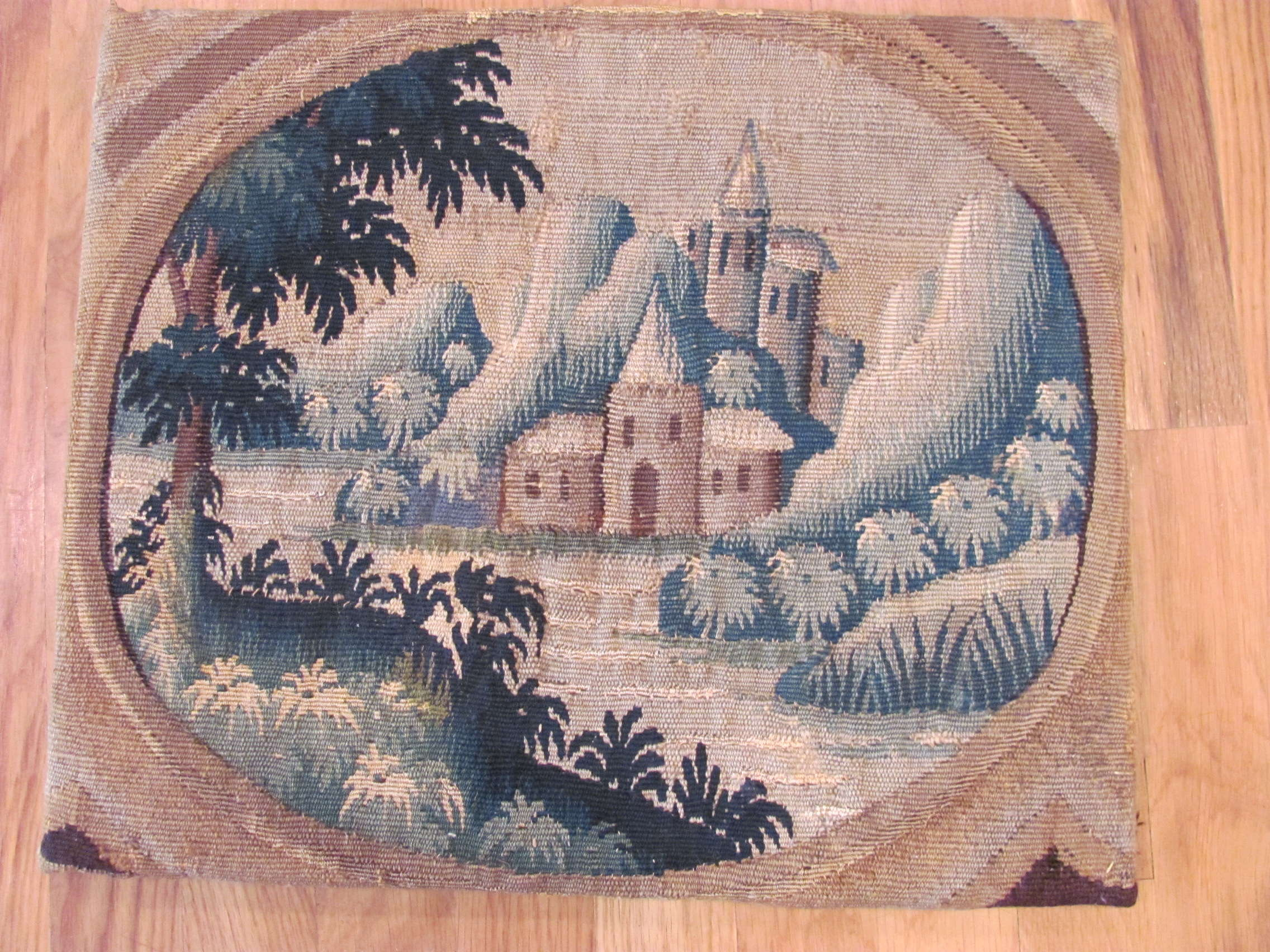 Antique Flemish Tapestry | Circa 1600