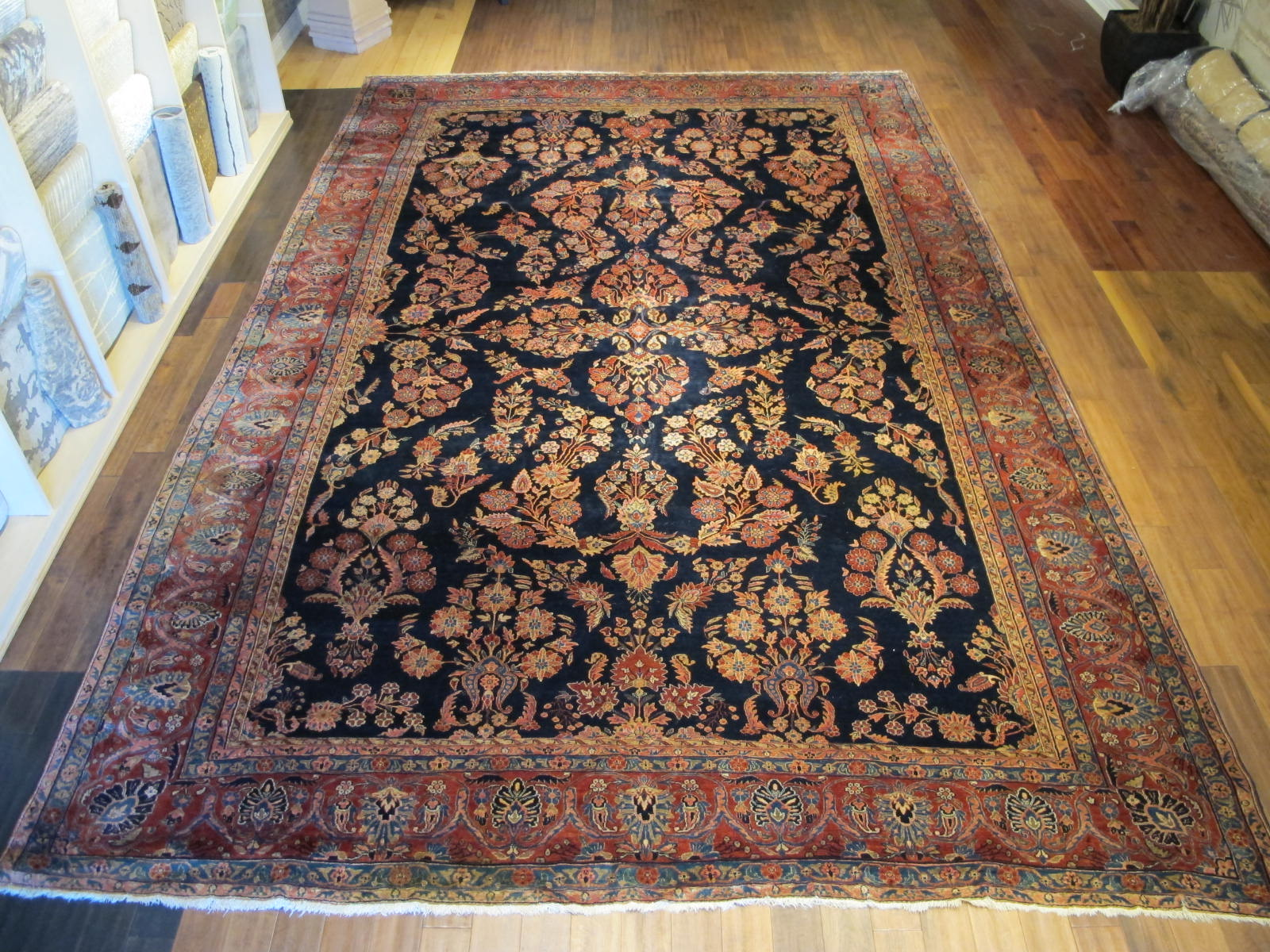 Sarouk Mohajeran Carpet | Persia | Antique, Circa 1910