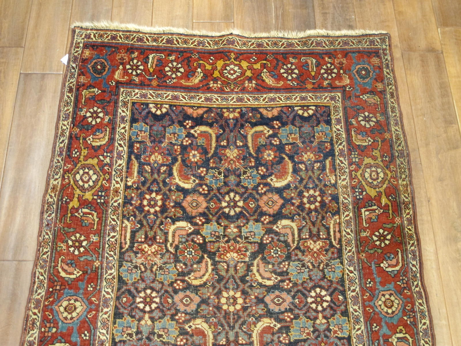 13078 antique persian bidjar runner 3,6x13,4 (3)