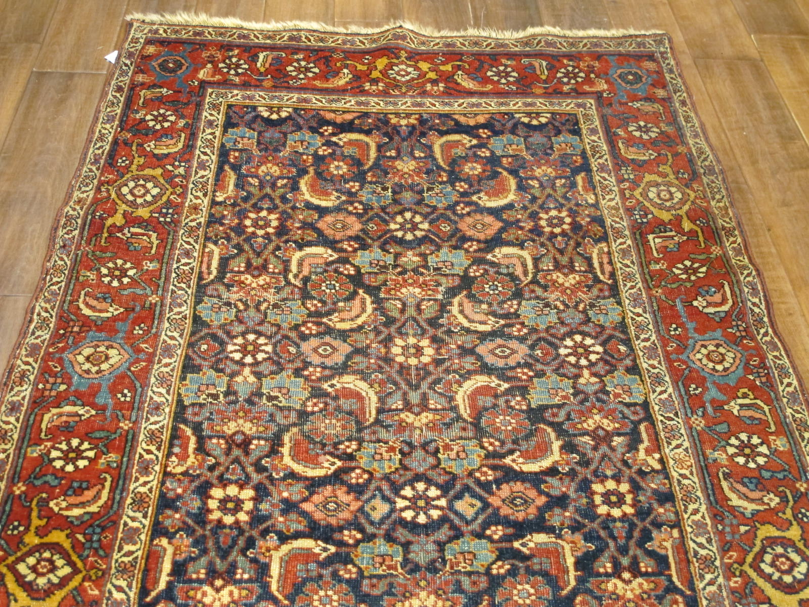 13078 antique persian bidjar runner 3,6x13,4 (4)