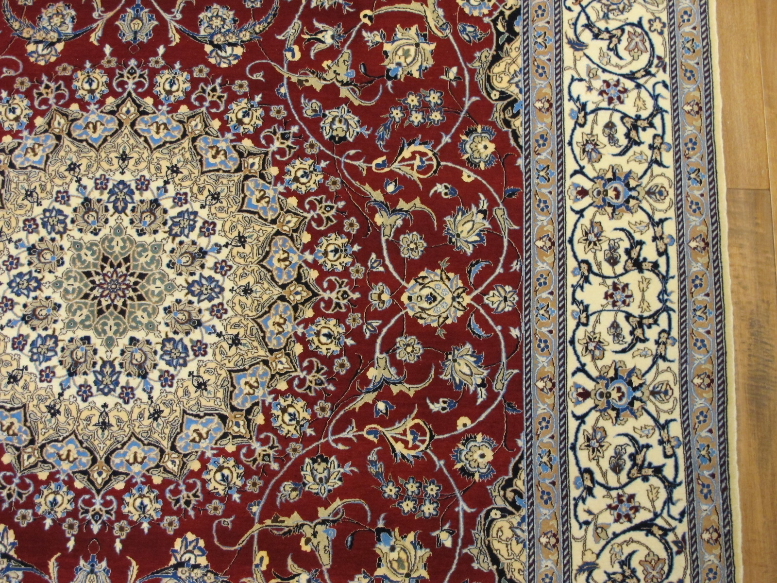 13084 Persian Nain carpet 10 x 6,9 (3)