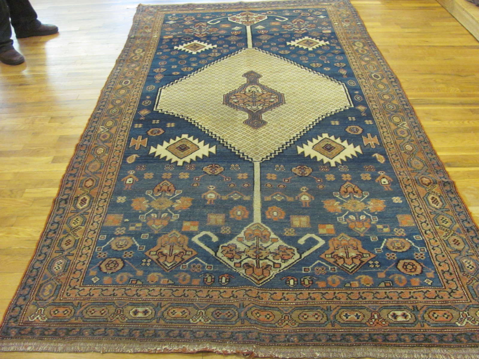 Antique Persian Hamadan | Handmade | Circa 1900