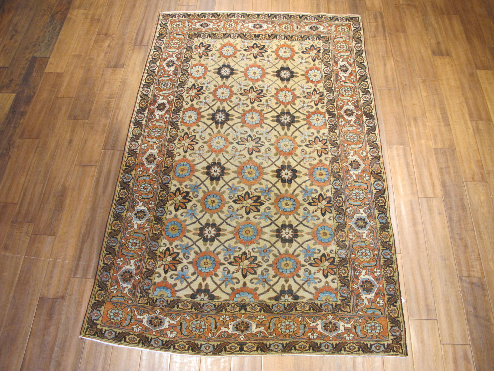 13015 semi-antique persian tabriz 4,6 x 7 (1)