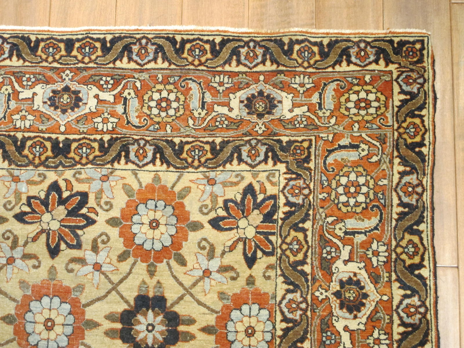 13015 semi-antique persian tabriz 4,6 x 7 (3)