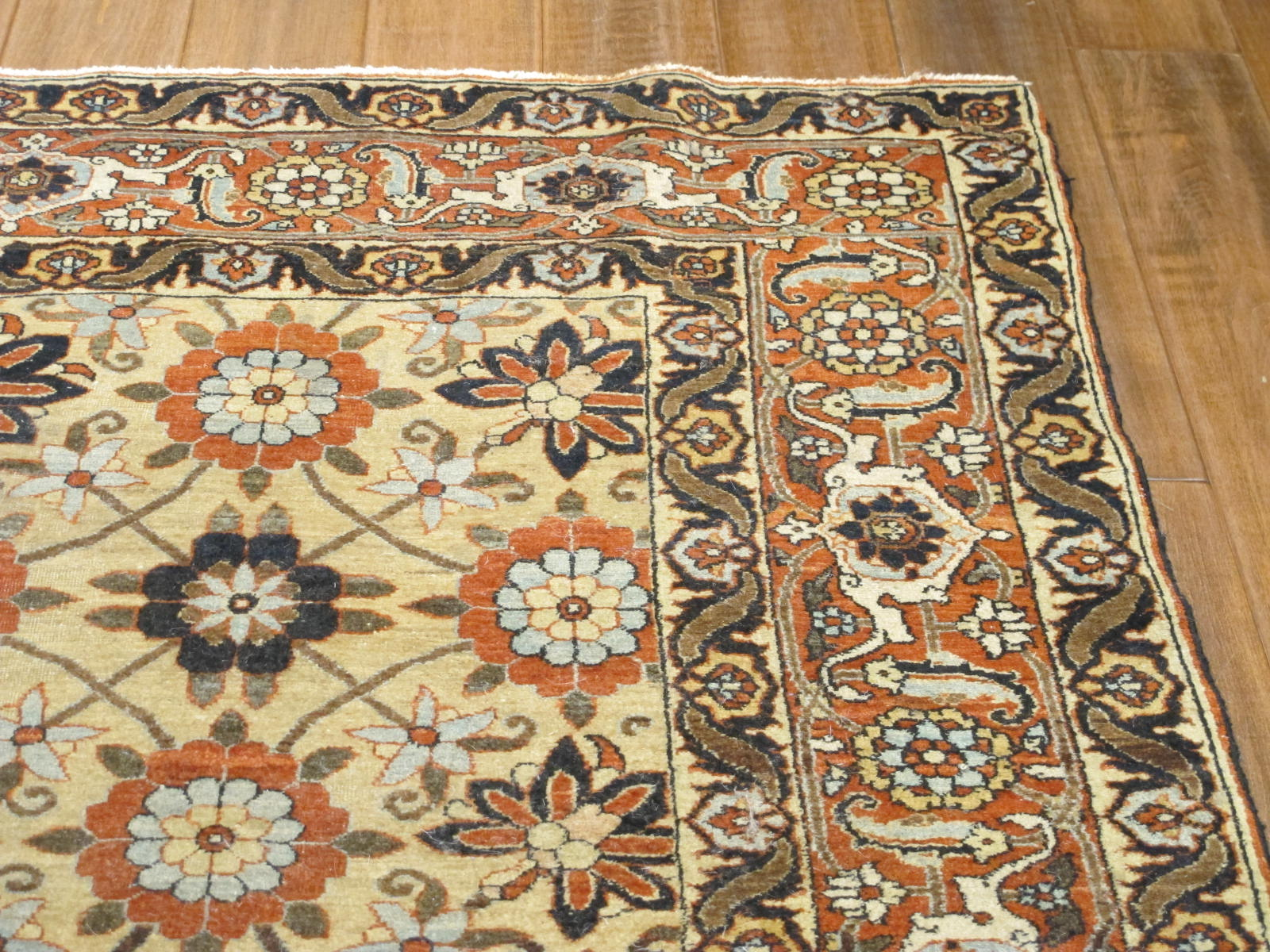 13015 semi-antique persian tabriz 4,6 x 7 (4)