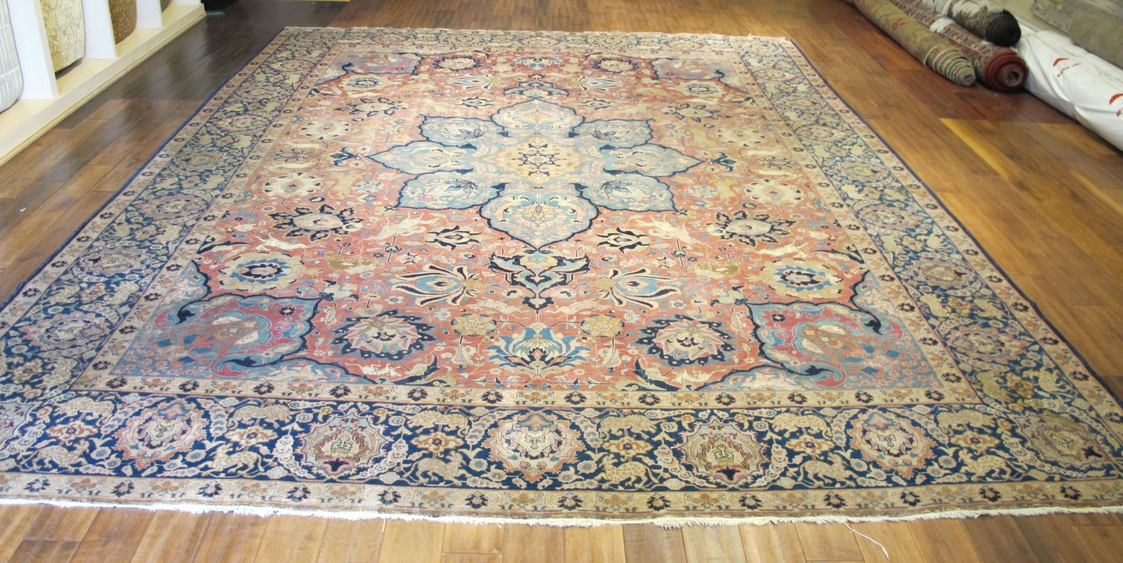 21100 Persian Tabriz carpet 10,3 x 14 (2)