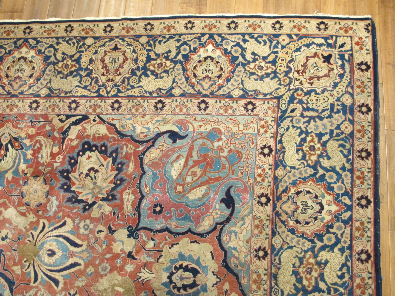 21100 Persian Tabriz carpet 10,3 x 14 (3)