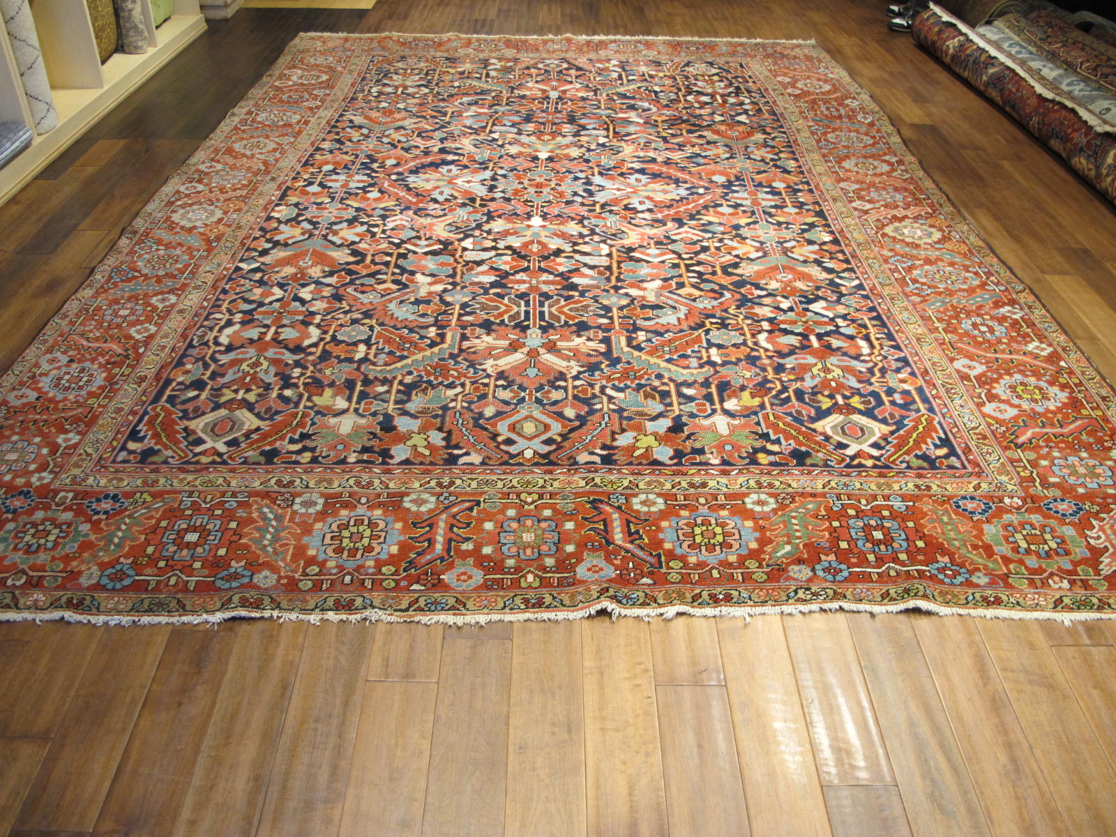 23123 Persian Heriz carpet 9,6x13,3 (2)
