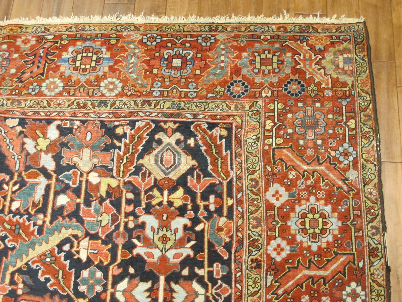 23123 Persian Heriz carpet 9,6x13,3 (3)