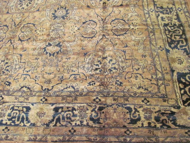 24730 antique indo tabriz rug 7,9x11-1