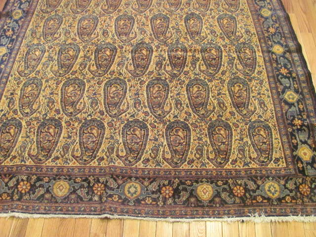 24736 antique persian senneh rug 5,2x8,3-1